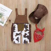 2020 Baby Boy Clothing Sets Cowboy Costume Infant Toddler Cl...