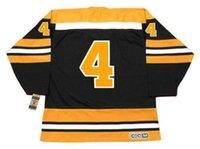 2018 Özel Bobby Orr Boston Bruins 1970 CCM Vintage Uzakta Hokey Jersey Erkek Kadın Gençlik Kaleci-Herhangi Bir Numarayı Kes