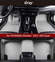 HYUNDAI Veloster 2011-2017year Kaymaz toksik olmayan paspas araba paspası için