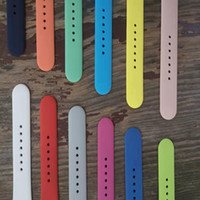 Para Apple Watch Band 42mm 38mm 88-color Silicone Strap Silicone Sports Muñequera deportiva universal para iWatch 5 4 3 2 1