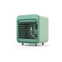Raffreddato ad acqua portatile del condizionatore d'aria di raffreddamento USB ricaricabile Desktop viaggio Fan Air Cooler Per la casa Outdoor Accessori auto