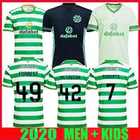 20 21 Celtic FC Football Maillots MCGREGOR GRIFFITHS 2020 2021 Klimala FORREST BROWN Rogić EDOUARD maison loin TIERCE hommes + tees de football