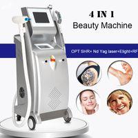ND yag laser tatuaggio macchina per la rimozione della macchina per il trattamento Spot SHR Blinkini Dispositivo di rimozione dei capelli RF IPL Elight Photofacial Equipment