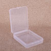 بطاقة تتحطم الحاويات حماية حالة صندوق بطاقة الحاويات بطاقة الذاكرة Boxs CF أداة بلاستيكية شفافة كاري التخزين سهلة ل