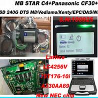 2020,06 haute qualité SD Connect Compact4 avec dts ssd bien installé pour panasonic CF30 pour MB Star 4 g scanner outil de diagnostic de voiture SD C4