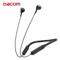 Dacom G03H 넥 밴드 무선 이어폰 스포츠 스포츠 방수 Bluetooth 헤드폰베이스 G03H 실행을위한 마이크와 함께