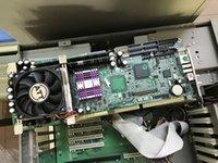 100% OK IPC Совет ROBO-8713VGA BIOS R1.03 Полноразмерная CPU Card ISA PCI Industrial Embedded плата PICMG 1.0 Шина с CPU RAM LAN
