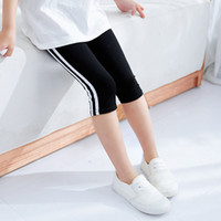 Jiuque clothing new summer leggings thin girls' cropped...