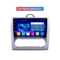 4G + 64g 10 pouces voiture audio audio GPS voiture DVD lecteur radio MP3 / WiFi / Bluetooth / DVD / CARPLAY / MIRLAIRE LIEN POUR FORD FOCUS 2006 2007 2009-2014