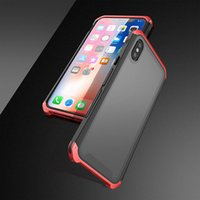 Luxury Shockproof Metal Case For Apple Iphone 11 Pro Max Thi...