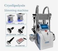 Laisser refroidir la machine multifonctionnelle amincissant Fat congélation Rf 40K Cavitation Fat réduction Lipo Laser Instrument de beauté du corps