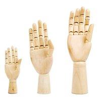10 بوصات خشبي اليد رسم كروكي المعرضة نموذج القوارب الخشبية المعرضة اليد المنقول أوصال الإنسان الفنان نموذج الرئيسية حلية