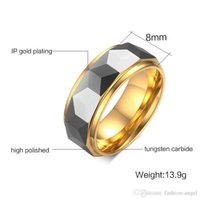 H138 Valentine's Day gift- men's tungsten carbide ring simple rings hand jewelries finger rings mixed order jewels source factory suppl