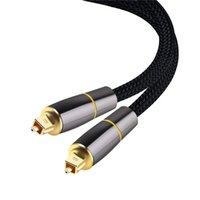 Digital optisk ljudkabel Koaxial SPDIF-kabel DOLBY 7.1 SoundBar 5.1 Toslink Fiber för förstärkare Teater JK2008KD