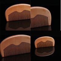 Mahogany Гребень Anti Static Whole Деревянные расчески Small Щетка для волос Волоски Стайлинг Инструменты Триммер Настроенные Logo 1 4HS E2