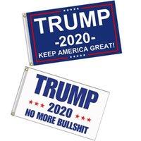 Trump 2020 banderas y estandartes de doble cara de la bandera Impreso Elección Presidencial Trump indicador de la bandera Fabic Keep America Gran VT0117