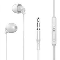 도매 유선 이어폰 수면 헤드셋 이어폰 스포츠 노이즈 감소 사운드 절연 3.5mm의 스테레오 소프트 TPE에 대한되는 일반 휴대 전화