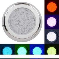 Нержавеющая материал Настенного RGB цвета 54W 432pcs привел бассейн свет водить пруд фонтан Подводного IP68 Водонепроницаемый светильник