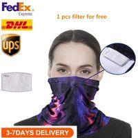 Nosotros stock, Ciclismo magia cabeza de la cara de la máscara protectora del cuello polaina del motorista del tubo Bandana bufanda Muñequera Beanie Cap deportes al aire libre