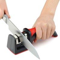 Profesyonel Bıçak Kalemtıraş 2 Aşamaları Mutfak Bıçak Bileyici Elmas Karbür Seramik Bıçak Bileme Mutfak Aracı Rastgele Renk