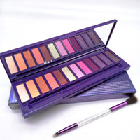Palette Maquillage Palette Ultraviolet avec brosse Beauty 12 couleurs Ofshadow Shimmer Matte Maquillage Maquillage Palette à paupières
