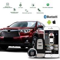 سرقة حماية بلوتوث ارتباط سيارة إنذار السيارة عن بعد البداية عن بعد وأمن دخول غير مفيد PKE إشارة التوقف عن زر قفل السيارات