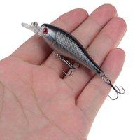 1pc 10 di colore 6,5 centimetri 4.8g ciprinidi duro adesca i richiami 10 # Pesca Ganci Pesca Attrezzatura di pesca LW-90