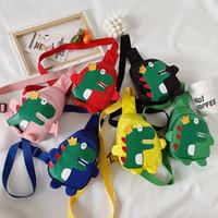 Хорошенький динозавр Детский мини талии сумка Детские Red Fanny Pack Мальчики Девочки Телефон Кошелек Chest сумка Детские пояса мешок талии пакеты M200712