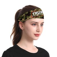 1 Trump Kafa Maskeler 2020 Cumhurbaşkanı Seçimi Bileklik Yüz Maskeleri içinde 38styles 4 Amerika Büyük Spor Hairband GGA3572 olun