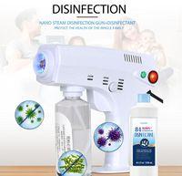 Neueste INS Tragbarer nano Sterilisator Dampfpistole blue ray Haar Guns nano Spray zur Desinfektion und Haar feuchtigkeitsspend Hause useFree DHL