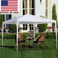 Tenda del giardino portatile della spiaggia del gazebo della tenda del partito del partito di picnic tende da sole delle tende del giardino delle tende bianche