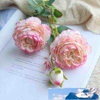 61см Искусственный цветок розы Шелковый Mariage Birthday Party Западная роза Свадебные цветы лютик азиатский филиал Home Decor