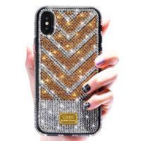 Geeignet für iPhone 11 pro max 12 Mode Schaffung Diamant Stil Handyfall iphone6S XS XR 6 7 8 Plus Schutz Designer Telefonkasten