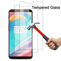 OnePlus 5T 5 3T 3 2 akıllı telefon Temperlenmiş cam için koruyucu cam için OnePlus 6T 6 7 toughed Ekran Koruyucu OnePlus
