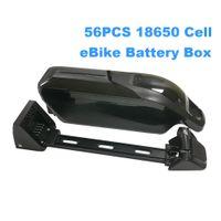 Box leeren eBike-Batterie-Kasten 36v 48v 52v Dolphin eBike Unterrohr MAX 56PCS 18650 Zellen