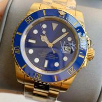 새로운 세라믹 베젤 로즈 골드 남성 기계 SS 오토매틱 무브먼트 시계 스포츠 셀프 바람 축제 마스터 시계 손목 시계