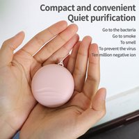 Purificateur d'air Collier Mini USB Portable Ridaison Ioniseur Négatif Ion Personal Personal pour Fille Femmes