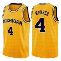 NCAA 4 Chris Webber Toni 7 KUKOC 23 Michael Jersey Koleji John 12 Stockton 34 Allen 34 Barkley Chris 4 Webber Carter Basketbol 2020 giyer
