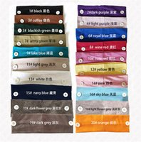 Sports Wrap Holder Button For Adult Dfim Elastic Headbands Accessories Ponytail Face With Solid Hair Colors Kids Headscarf Bands D Nvkpi