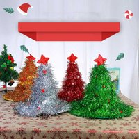 Christmas Hat Non- Woven Fabric Christmas Party Dress Up Head...