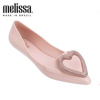 2020 nuovi pattini Melissa donne Jelly Sandals Summer Heart Design Ladies Sandals traspirante femminile Melissa alta qualità