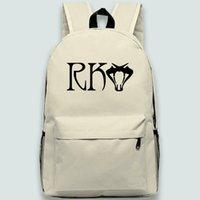 راندي أورتن على ظهره لاعب RKO حقيبة مدرسية الافعى Daypack حقيبة المصارعة الرياضة المدرسية حقيبة في الهواء الطلق حزمة يوم الرياضة