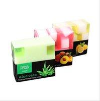 vente chaude savon 100% Thai savon à l'huile essentielle Rose charbon de bambou Aloe Mango bain main savon fruit naturel Thai