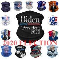 미국 주식 바이든 2,020 선거 페이스 마스크 인쇄 방진 마스크 야외 사이클링 목 매직 스카프 디자이너 파티는 DHL 배송 마스크
