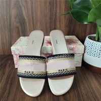 Çok Renkler Bayan Terlik Güzel Scuffs Ayakkabı Yaz Plaj Slaytlar Terlik Deri Taban Flip Flop Loafers Seksi Örme İşlemeli