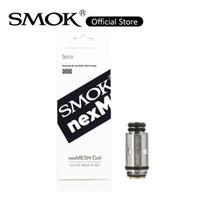 Smok Nexmesh Pod Bobin 0.4ohm A1 SS316 NEXMESH NEXMESH POD Kit için NEXMESH Yedek Bobinleri 100% Orijinal