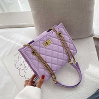 purple Pu Bag Bag Women Travel Bags Leather Femme Large Hand...
