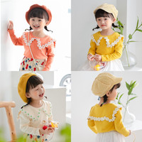 Newest Autumn INS Fashions Little Girls Floral Style Cotton ...