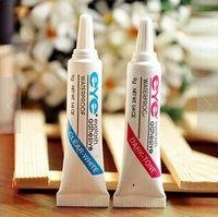 La herramienta cosmética belleza vendedora caliente Negro impermeable blanco del pegamento de pestañas ojos profesional extensión del latigazo del pegamento adhesivo