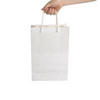 Пустой Сублимация бумажного мешок A3 A4 A5 Термотрансферного картонная упаковка сумки на заказ ЛОГОС творческого подарок сумка белого A09